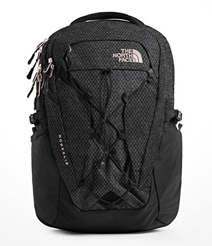 The North Face Women's Borealis Laptop Backpack - 15 Inch (TNF Black Heather/Burnt