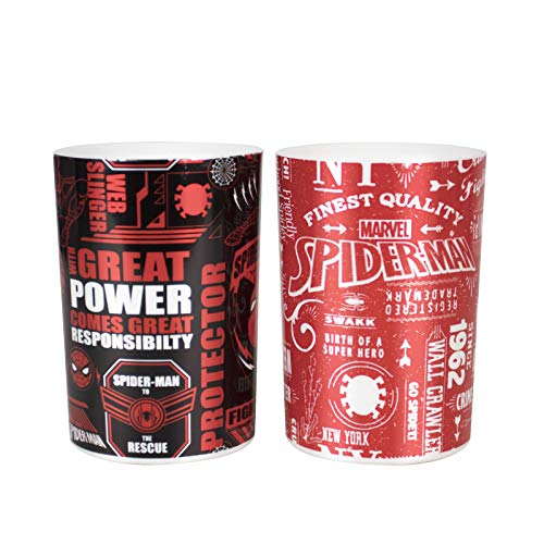 marvel toothbrush holders MINISO Marvel Gargle Cups Wash Cup Kids Toothbrush and Toothpaste Holder Mug Bathroom Countertop Organizer (2 Pack)