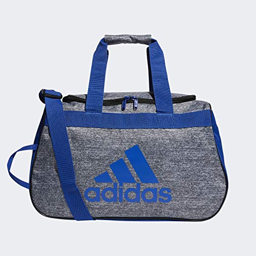 adidas Unisex Diablo Small Duffel Bag, Onix Jersey/Collegiate Royal, ONE SIZE