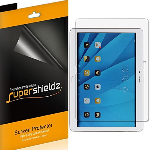 (3 Pack) Supershieldz for Huawei MediaPad M2 10.0 (10.1 inch) Screen Protector, Anti Glare and Anti Fingerprint (Matte) Shield