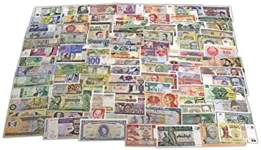 World Banknotes Collection - 100 Pieces of 100 Different World Countries - Foreign, Currency, Uncirculated