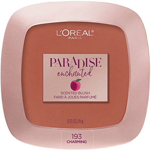 L'Oreal Paris Cosmetics Paradise Enchanted Fruit-Scented Blush Makeup, Charming, 0.31 Ounce