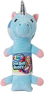 Cloudz Kids Plush Seat Belt Buddy Travel Pillow Seat Belt Cover – Unicorn