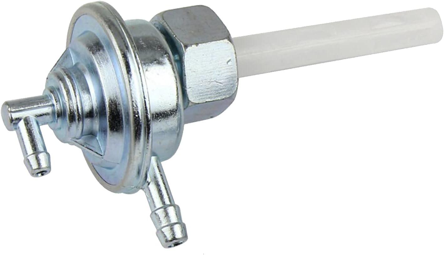 S SMAUTOP Motorbike Fuel Tap, Motorcycle Fuel Tank Switch Pit Bike Petrol Tap Gas Fuel Cut Off Valve 125cc Fuel Tap For Gy649cc50cc125cc150cc CG 125 Engine
