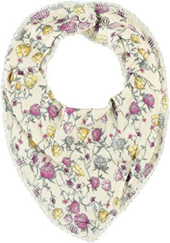 NAME IT ★ Baby Dreieckstücher Halstuch Lätzchen NbnRamee ORGANIC Baumwolle (Tuch RAMEE Whisper White)