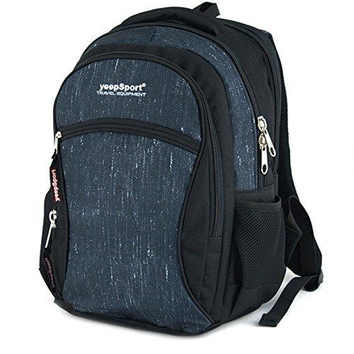 YeepSport Schulrucksack für Schule, Rucksack für Arbeit und Freizeit 28l, Jugendliche Mädchen und Jungs - 21607 Navy