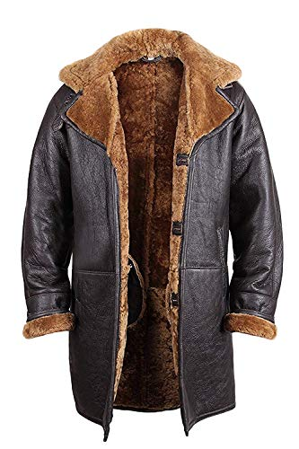 Mens Warm Trench Coat