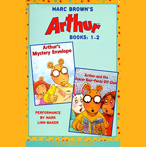 Arthur: Books 1-2 audiobook cover art