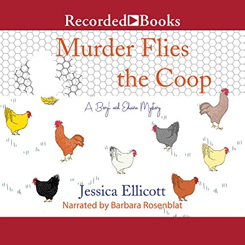 Murder Flies the Coop audiobook cover art