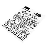 Changor Etiqueta engomada de la Pared Duradera, Familia Inspiracional Muro 83x61cm Palabras Proverbios con PVC