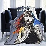 LUCKY Home LES Miserables Manta de franela de forro polar para cama, sofá y coche