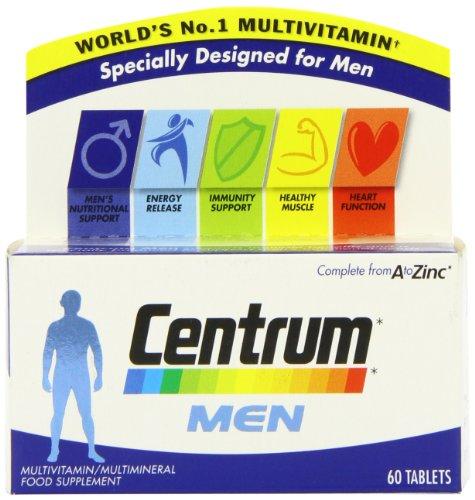Centrum Multivitamins for Men - Pack of 60