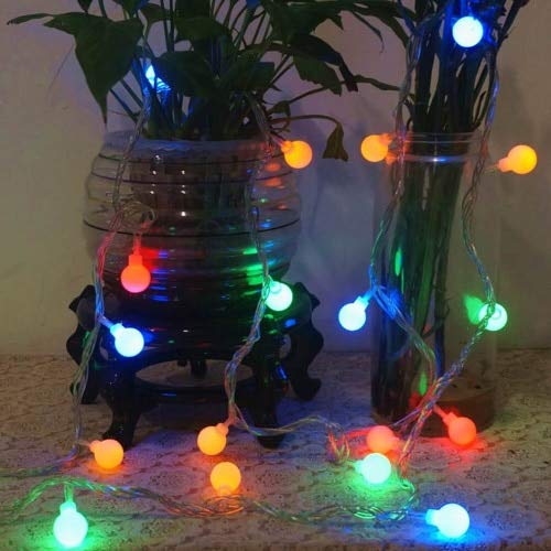 Fairy Tale Garland LED Bulb lamp Electric Bulb Waterproof Christmas Decoration String Light Battery Multicolor 3m30 LEDs