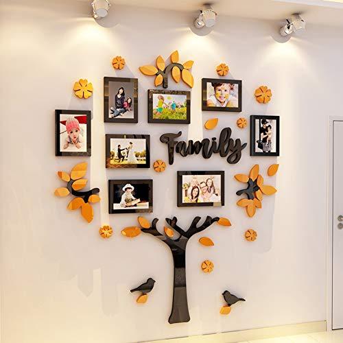 WEWE foto muur, met volledige grootte opknoping sjabloon Diy Stickers boom van het leven Centerpiece Display Stand voor slaapkamer woonkamer