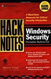 HackNotes Windows Security Portable Reference (English Edition)