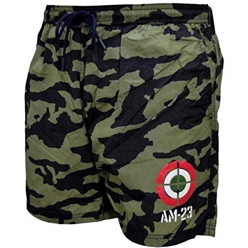 Aeronáutica Militar - Disfraz de hombre BW190 - Pantalón corto de camuflaje Vedi Foto 54