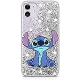 Original & Offiziell Lizenziertes Disney Lilo & Stitch Handyhülle für iPhone 11, Hülle, Hülle, Cover aus Kunststoff TPU-Silikon, schützt vor Stößen & Kratzern