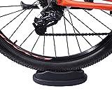 Jadeshay Elevador de la Rueda Delantera - Bloque de Elevador de la Rueda Delantera de la Bicicleta para Entrenamiento de Bicicleta de Interior Soporte para Entrenador de Bicicleta