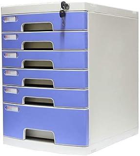 Armoires de fichiers verrouillables de bureau de rangement tiroir de confidentialité, organiseur de bureau de fichiers, ar...