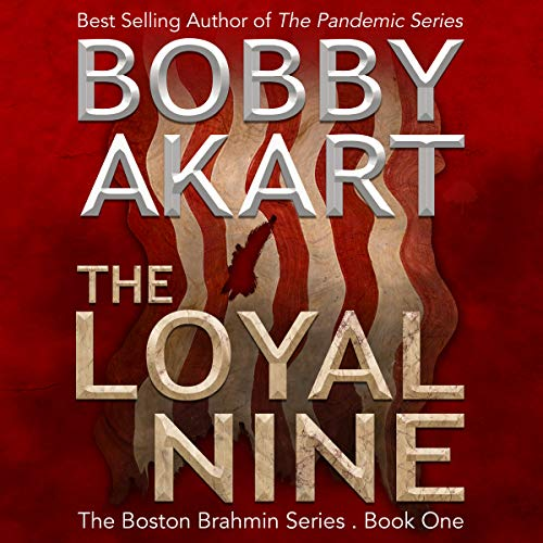 The Loyal Nine audiobook cover art