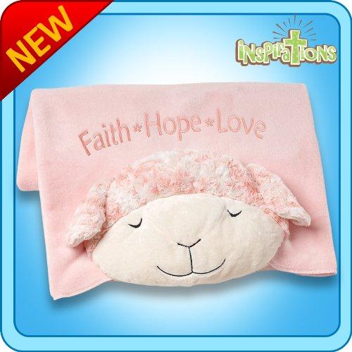 Pillow Pets Blanket - Prayer Lamb