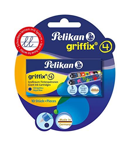 Pelikan 4001 Griffix Großraum-Tintenpatronen 6 x 5 Stück Blisterpackung (30 Stück)