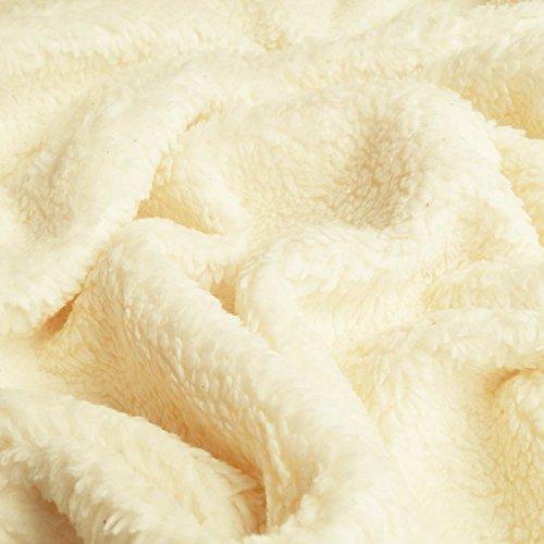 Paula - Tela (Peluche) de algodón orgánica Pura - por Metro