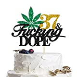 Package Include: You will receive 1 pcs 27 & Fucking Dope Cake Topper.It will be a eye-catching sign on your or your sweet heart birthdays, 420 birthday party,weddings, hemp party and other special occasions! Create a surpise for your lover / family ...