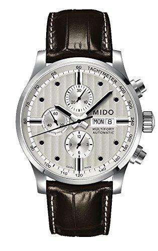 Mido Reloj Multiesfera para Hombre de Automático con Correa en Cuero M005.614.16.031.00