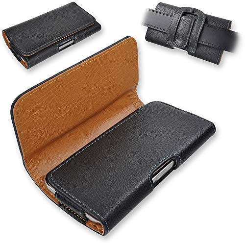 Yonix Universal Gürteltasche | Trageclip & Schlaufe | für Huawei/HTC/LG/Motorola/Samsung/Sony/Xiaomi | 157 x 74 x 10 mm | Größe 3XL [2]