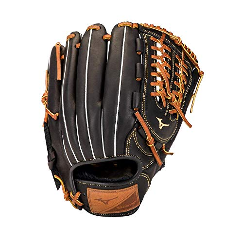 "Mizuno GSN1150 Select 9 Infield Baseball Glove 11.5"" , Right Hand Throw, BLACK-BROWN"