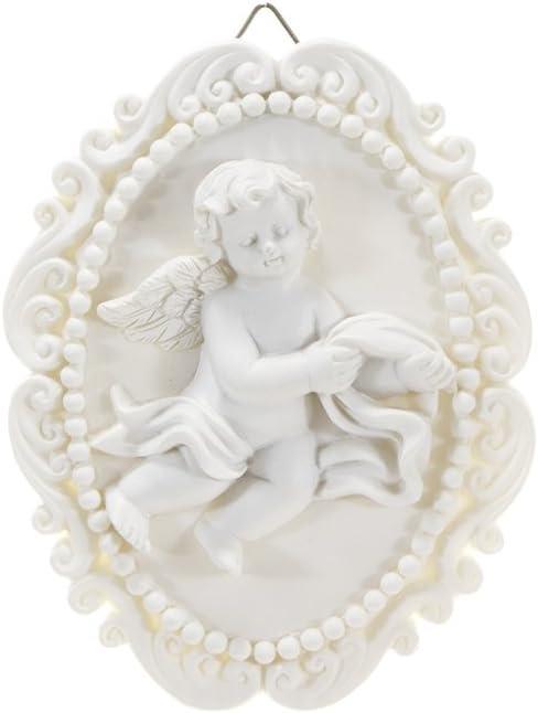 Mega Crafts Religious Wall Décor Angel Figurines Plaque   Pol