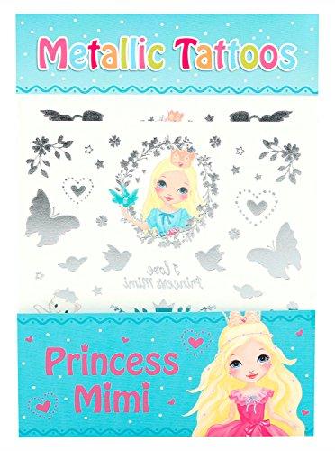 Depesche 8947 Metallic Tattoos Princess Mimi