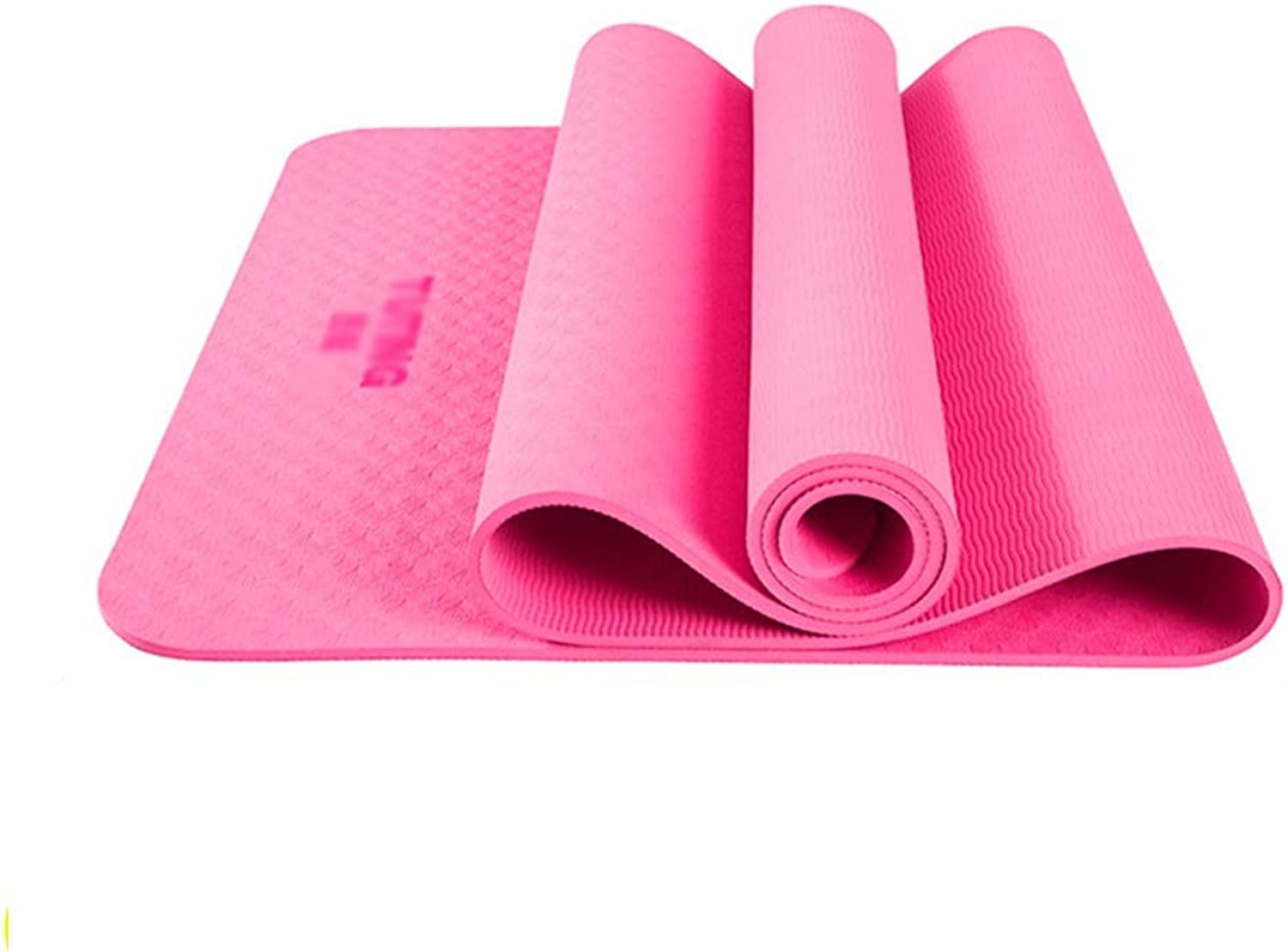 XF Yoga Matten Yogamatte - verbreitert, geruchlos und Ripstop TPE, beidseitiges Anti-Rutsch-Muster, Anfnger Yoga Dance Fitness multifunktionale Trainingsmatte, Bodenmatte, Gre  183x80 cm, 183X61 cm