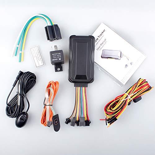 JIMI GT06E - Rastreador GPS 3G para vehículos 3G localizador GPS de coche en tiempo real para gestión personal/flota/taxi/moto/monitoreo logístico + SOS + 27 alertas inteligentes, Servicio de plataforma de por vida