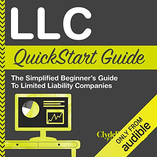 LLC QuickStart Guide: The Simplified Beginner's Guide to Limited Liability Companies Titelbild