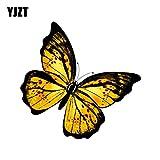 RSZHHL 14 cm * 13.6 cm Moda voando borboleta decalque PVC Motocicleta Carro adesivo 11-00656