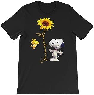 Eureka-Store You are My Sunshine Shirt-Cute Snoopy t-Shirt for Men Women Kids-Snoopy Hoodie