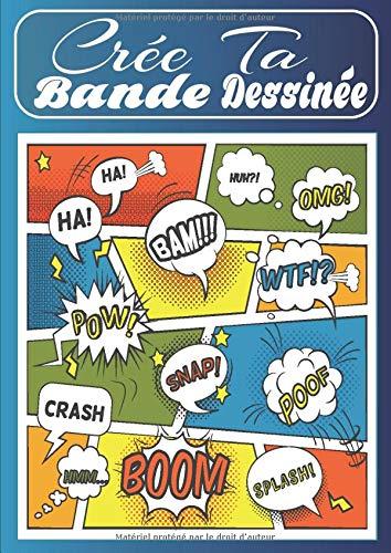 bon comparatif Créez vos propres bandes dessinées: remplissez des bandes dessinées vierges – activités créatives pour adultes, adolescents et… un avis de 2021