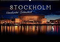 Stockholm - Nordische Schoenheit (Wandkalender 2022 DIN A2 quer): Die Stadt der Inseln (Monatskalender, 14 Seiten )