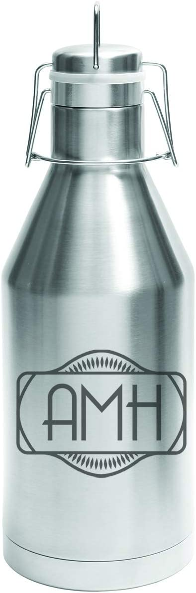 Personalized Etched 64oz Stainless OFFicial store Steel Growler Beer gift Insulated