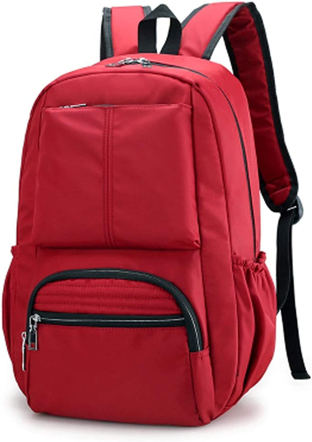 Casual Unisex Backpack Waterproof Lightweight Nylon Outdoor Sports and Hiking Bag Student Mountaineering Backpack