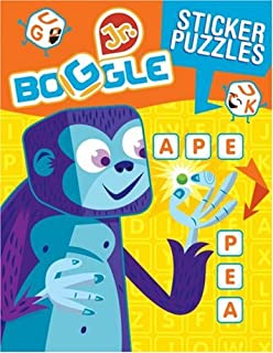 BOGGLE Jr. Sticker Word Puzzles