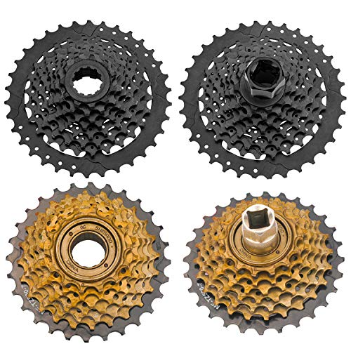 QKURT Bike Chain Whip Tool Kit Universal for Cassette and Tourney, Upgrade Sprocket Remover Tool 3PCS