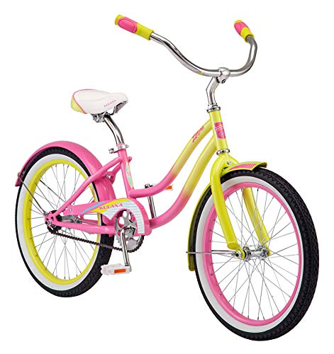 cute yellow color 20-inch bike
