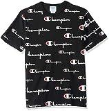 Champion Life Herren Heritage Tee T-Shirt, Mehrfachskala in Schwarz, X-Groß