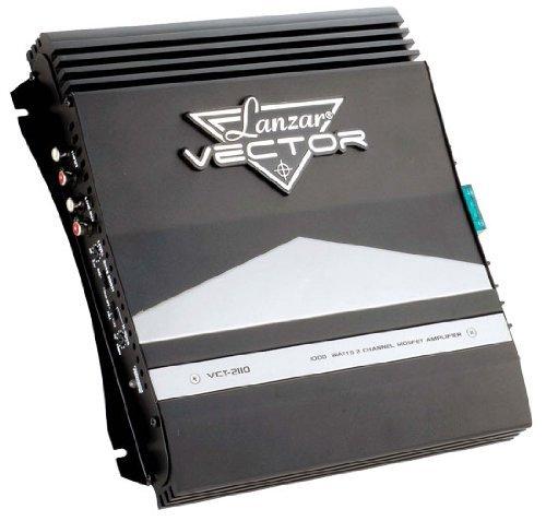 AMPLIFICATEUR Voiture LANZAR VCT2110 VCT 2110 Ultras Slim 2 CANAUX 1000 Watt Max Classe AB