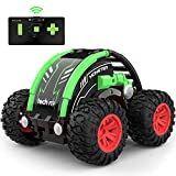 tech rc RC Car Stunt Car for Kids, 360° Spins & Flips 2.4 GHZ 4WD High Speed Remote Control Car for Boys