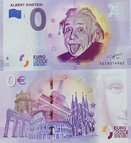 0-Euro-Souvenir-Schein Albert Einstein (2020-1) Deutschland Null Euro € Sammler