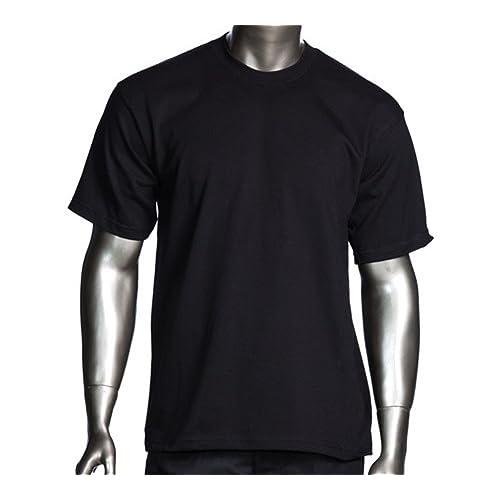 a774cda54 Men's proclub Heavy Weight solid crewneck short sleeve shirts